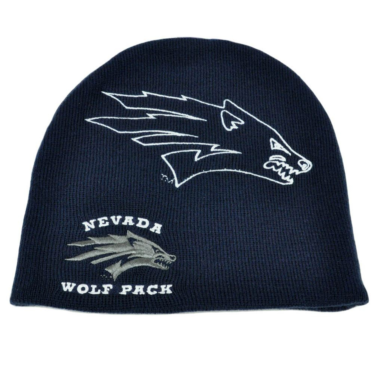 af854068f085e NCAA Licensed Nevada Wolf Pack Beanie Hat Toque Knit Adult Acrylic One Size  Fit - Cap Store Online.com