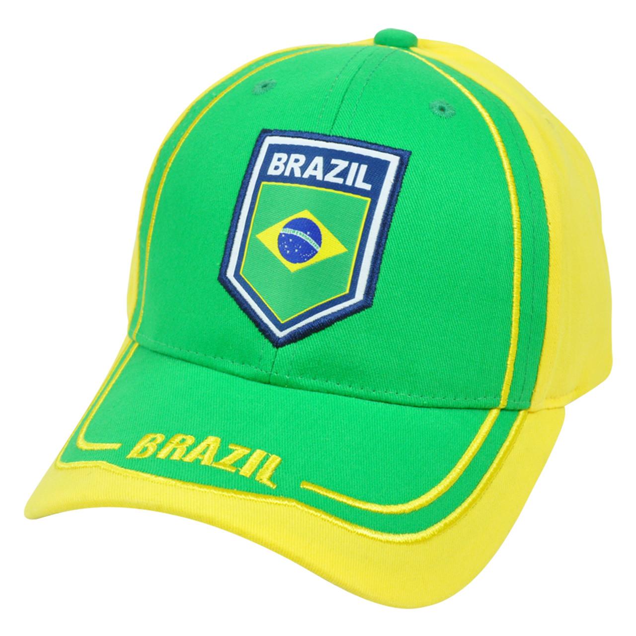 77447985617 Brasil Brazil Hat Cap Gorra Soccer Flag Futbol Football Rhinox CIS08  Adjustable - Cap Store Online.com