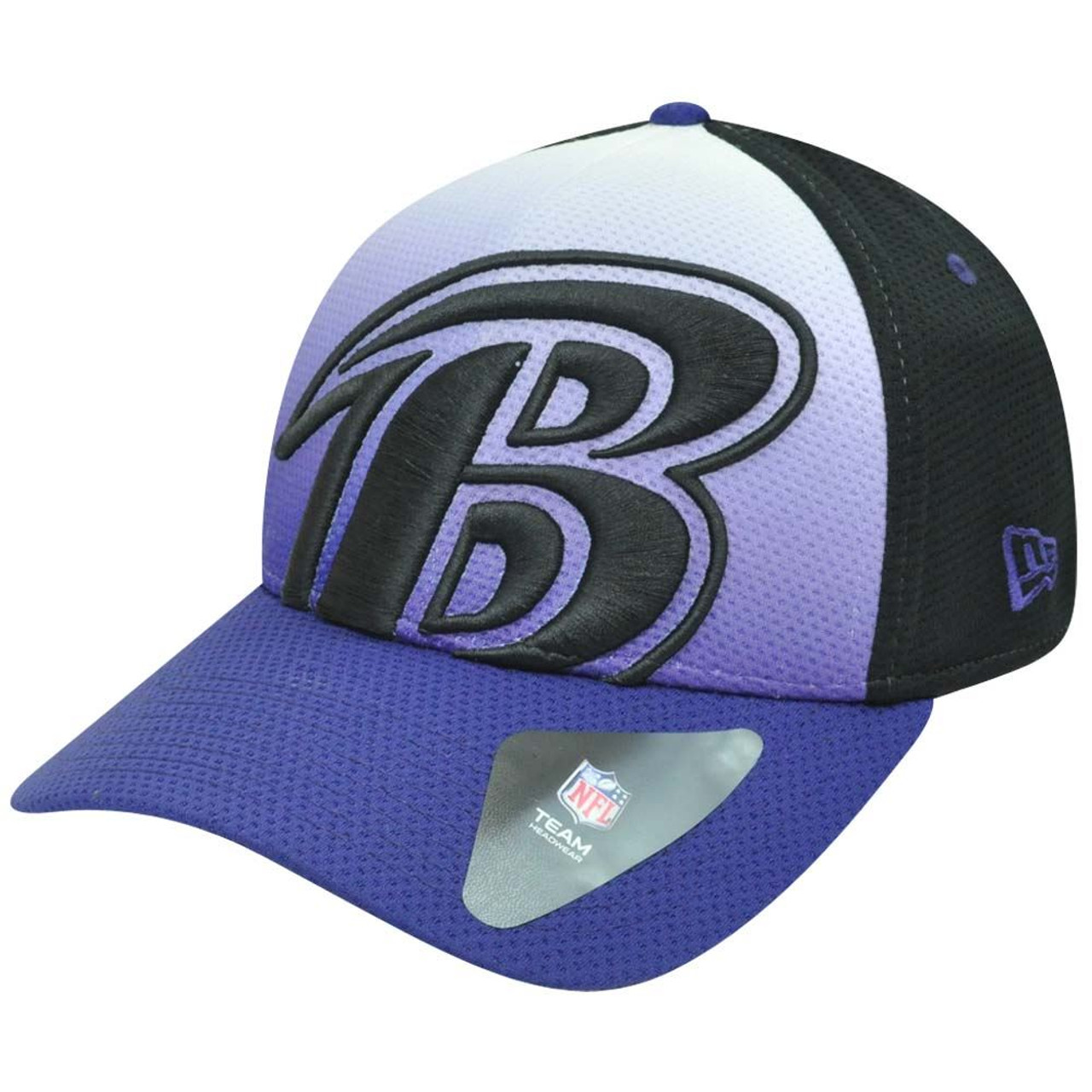 hot sale online 1a5ec 4b2c2 NFL New Era 39Thirty 3930 Gradation Baltimore Ravens Flex Fit M L Hat Cap -  Cap Store Online.com