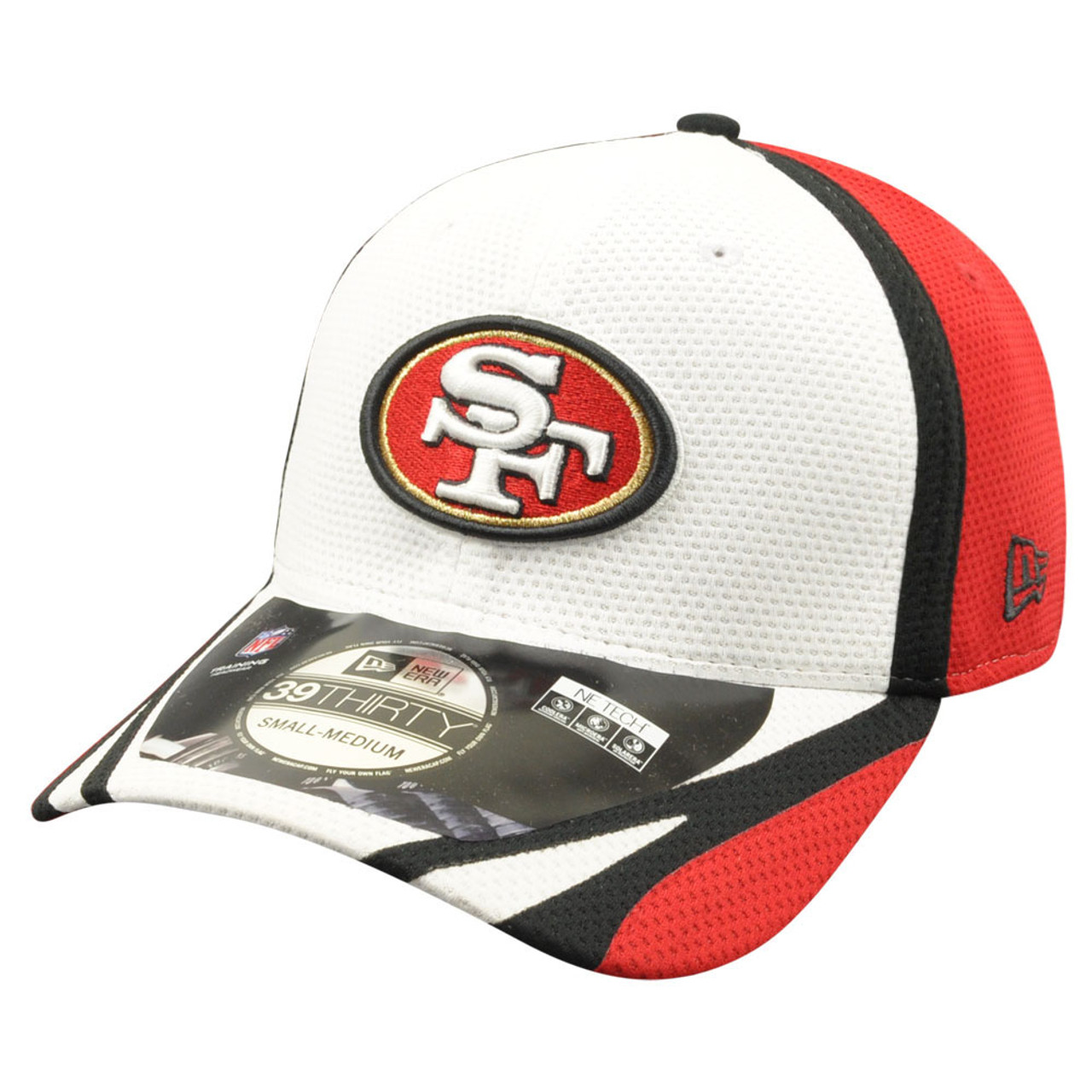 17754985 NFL New Era 39Thirty San Francisco 49ers 2014 Official Training Flex Fit M/L
