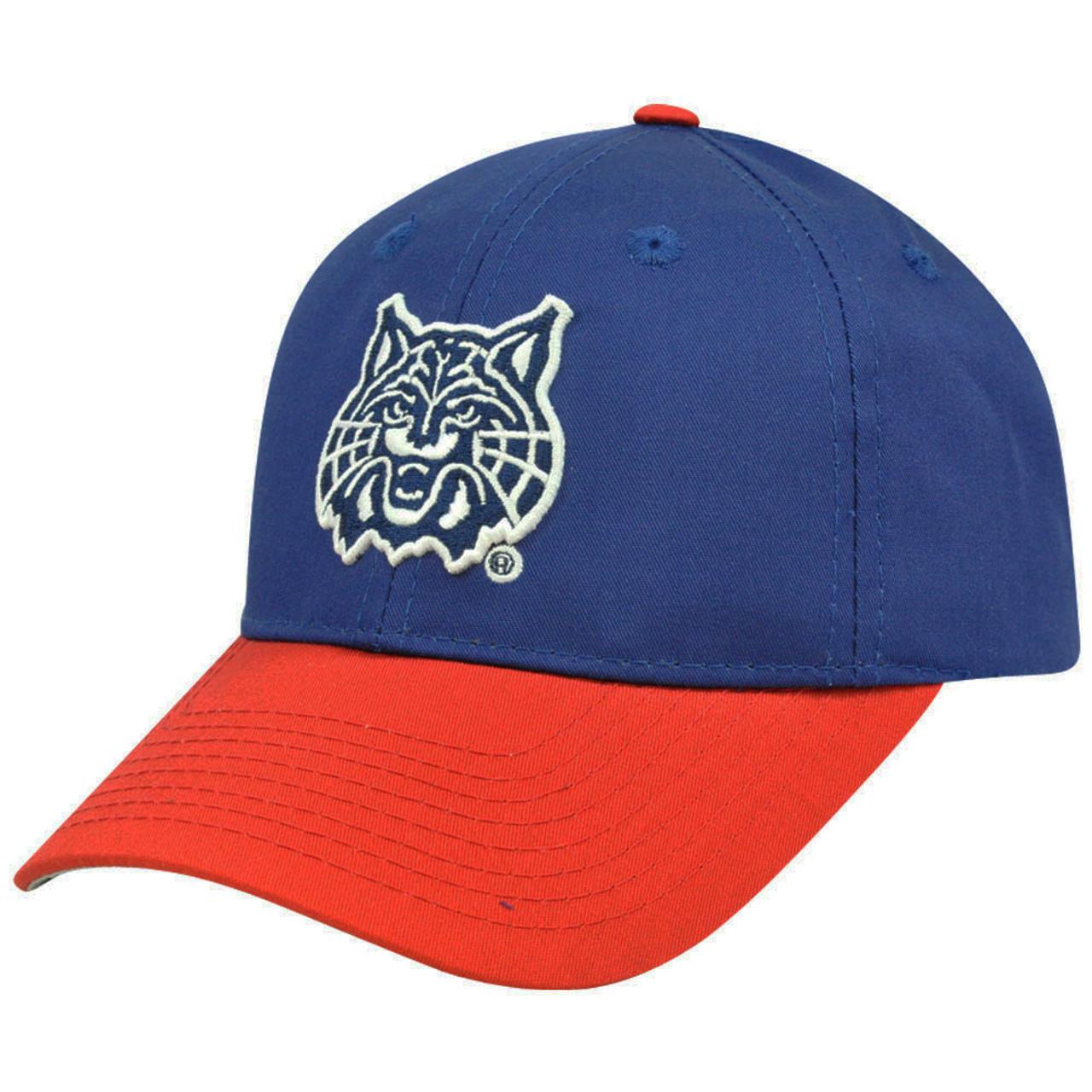 7c8cccb41a2 NCAA Arizona Wildcats Mascot Logo Youth Kids Velcro Adjustable Construct Hat  Cap - Cap Store Online.com