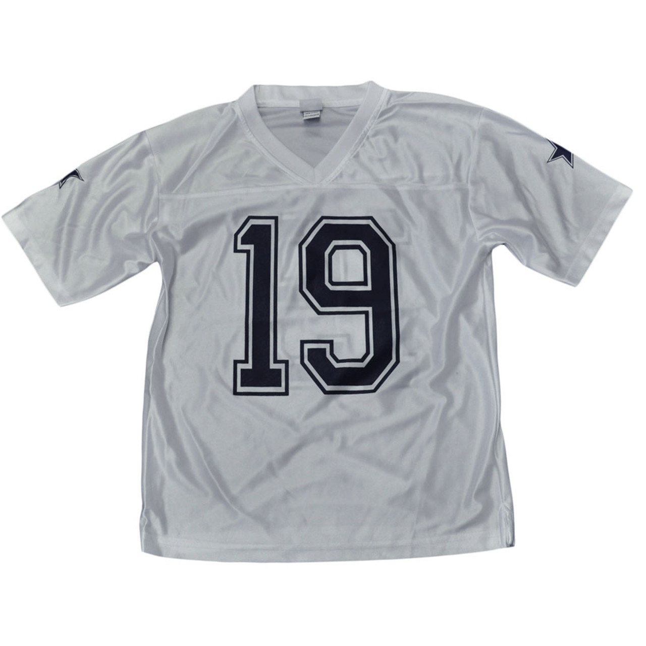 online retailer 14acb a222e NFL Dallas Cowboys Football Womens Ladies V-Neck Miles Austin 19 White  Jersey