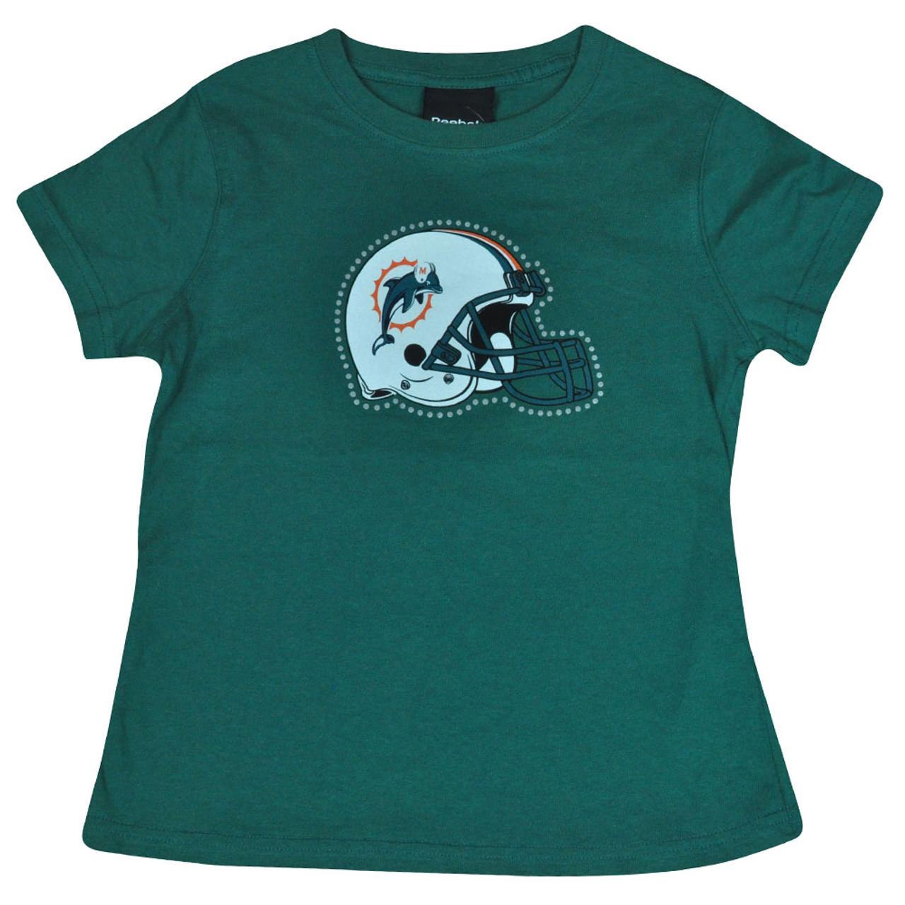 miami dolphins rhinestone shirt