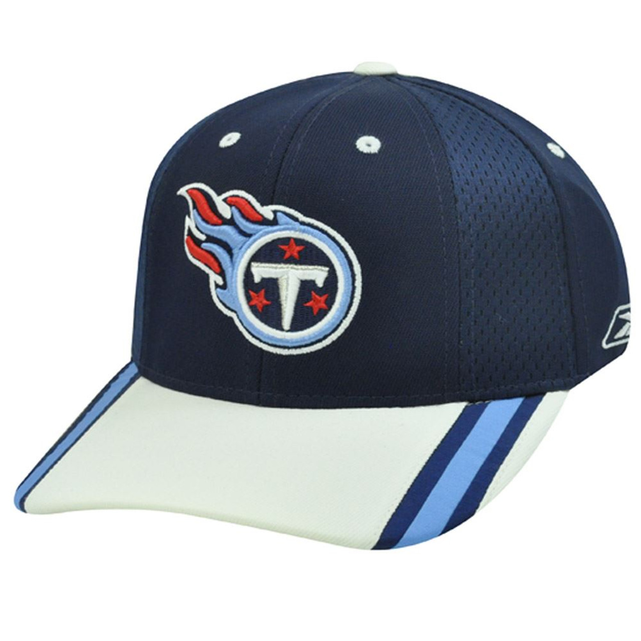 sale retailer 002c6 e91b0 NFL REEBOK TENNESSEE TITANS FIELD NYLON CAP HAT ADJ BLU
