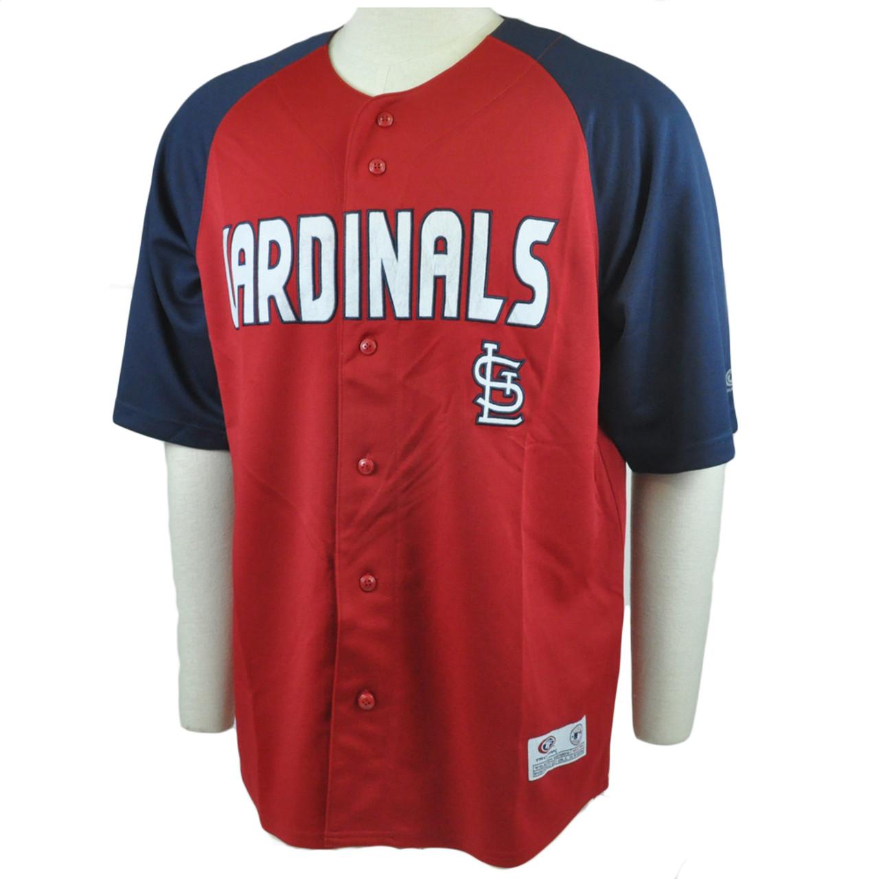quality design 03cd8 58a66 MLB True Fan St Louis Cardinals Felt Applique Authentic Licensed Jersey  Large LG