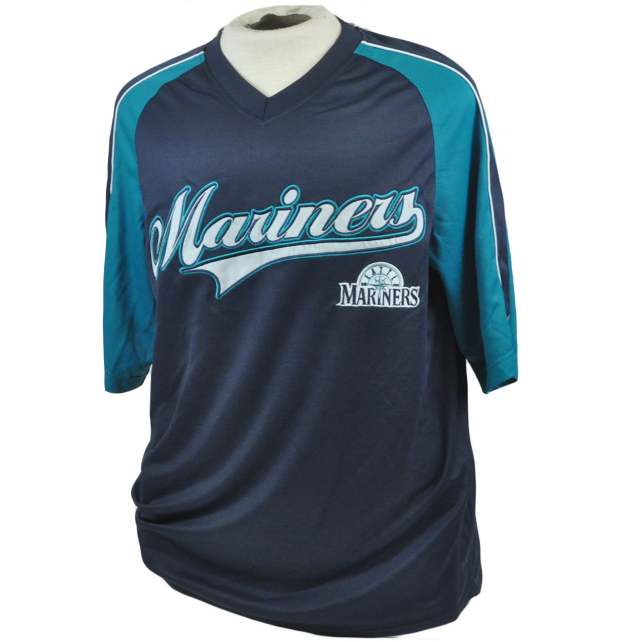 best loved 34f2f 320b4 MLB Seattle Mariners True Fan Lightweight Licensed Authentic Jersey Shirt  Large