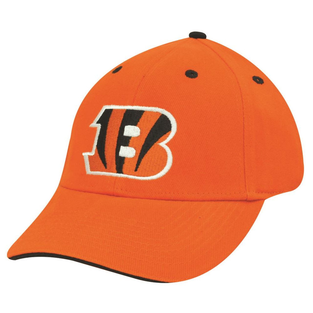 NFL CINCINNATI BENGALS ORANGE COTTON VELCRO HAT CAP Cap Store  for sale