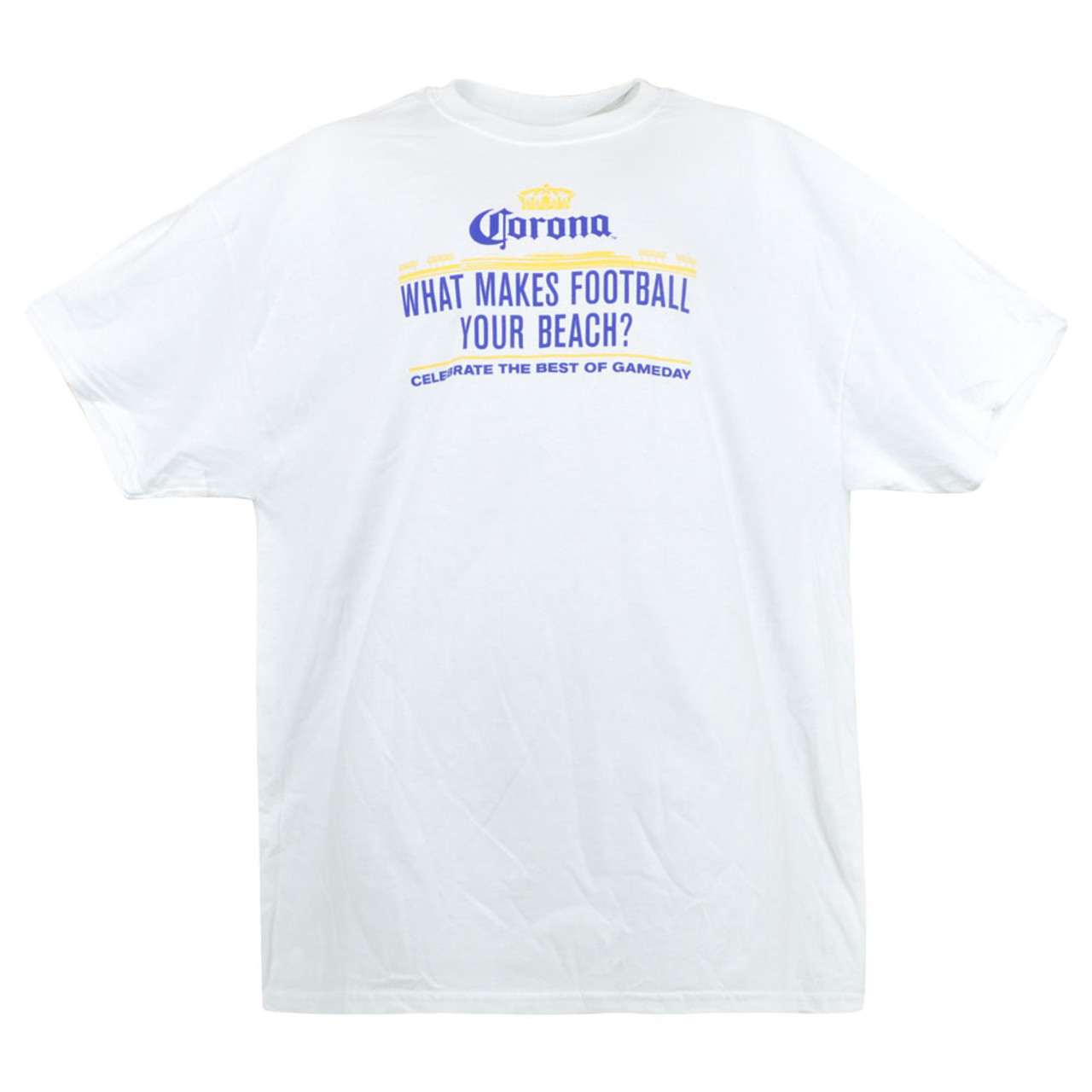Corona What Makes Football Your Beach Best Of Gameday Graphic Tee Novelty Xl Cap Store Online Com