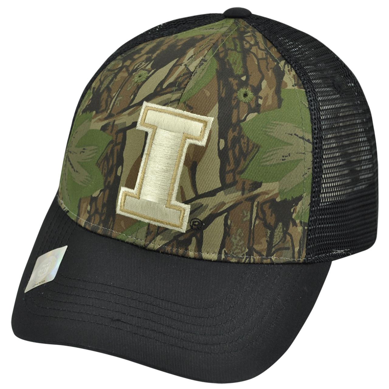 check out 5285f 7d226 NCAA Illinois Fighting Illini Freshman Trucker Camouflage Mesh Snapback Hat  Cap - Cap Store Online.com