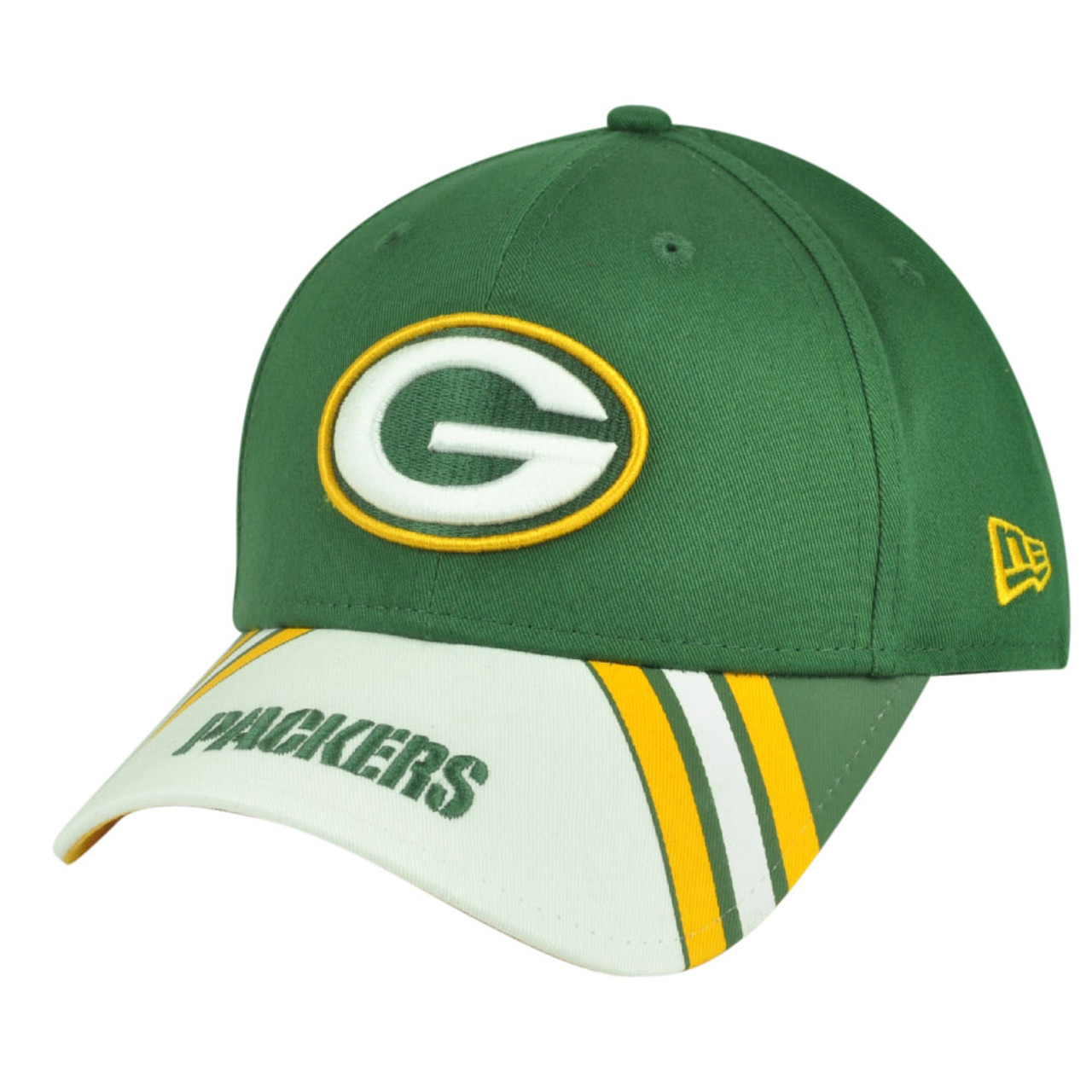 cc15c342 NFL New Era 9Forty 940 Classic Green Bay Packers Jersey Play Adjustable Hat  Cap