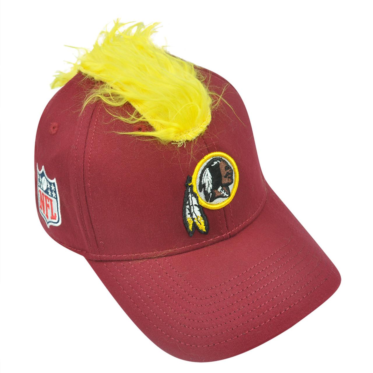wholesale dealer b02a2 ee2f3 NFL Washington Redskins Spike Flex Fit Small Medium Mohawk Reebok Hat Cap  Stretc - Cap Store Online.com