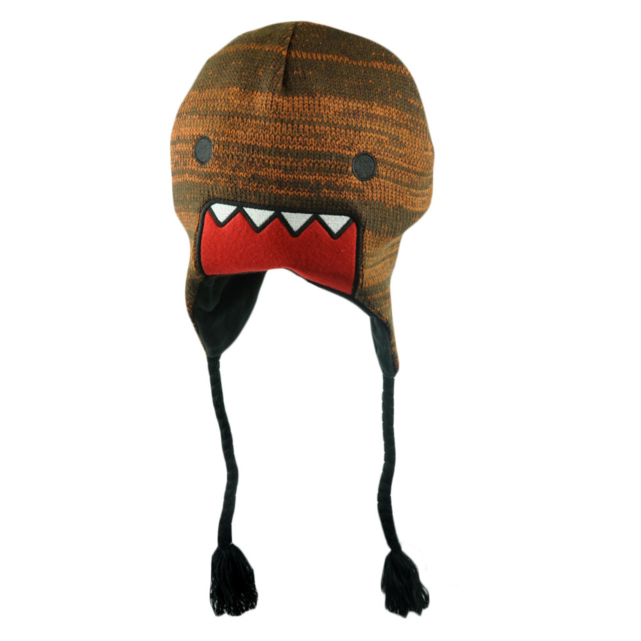 e53c73fff3f Domo Kun Japanese Animation Supreme Lettering Felt Peruvian Knit Beanie Hat  - Cap Store Online.com