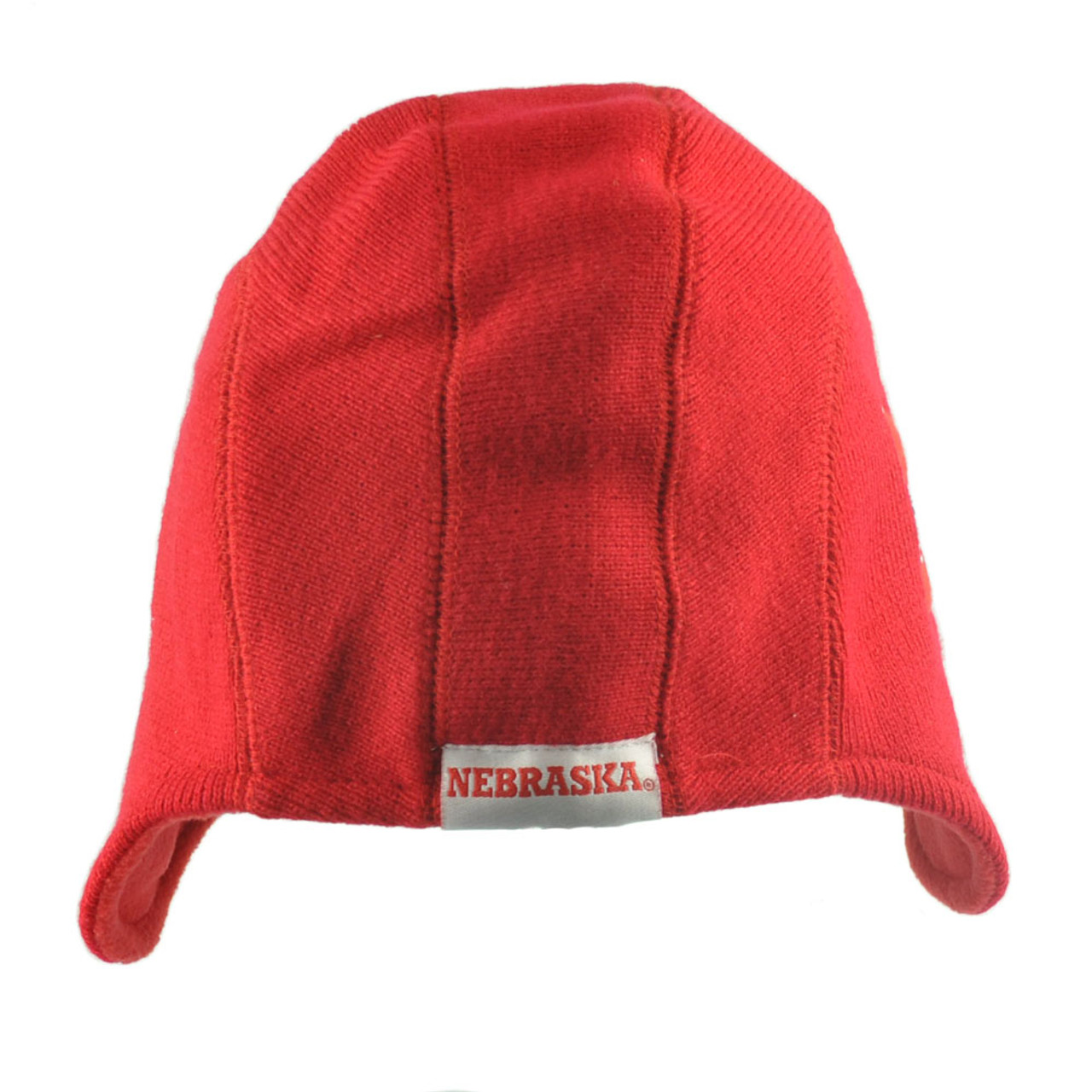 best cheap d0f29 8d77a NCAA Nebraska Cornhuskers Game Day Helmet Beanie Knit Skully Hat Red Fan  Favorit - Cap Store Online.com
