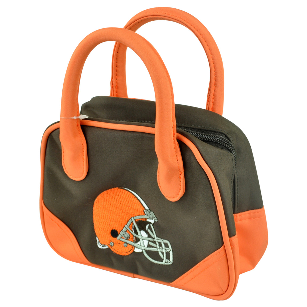 3799e22a NFL Cleveland Browns Mini Bowler Hand Bag Two Tone Accessories Football  Womens