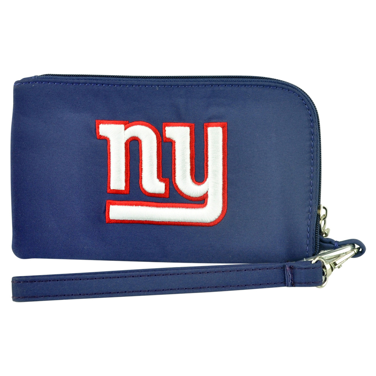 a4504ea1f NFL New York Giants Clip On ID Wallet Wristlet Phone Case Ladies Womens  Football