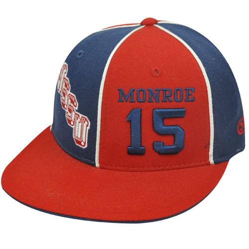 NCAA WSSU EARL MONROE 15 WINSTON SALEM FITTED 7 7/8 HAT