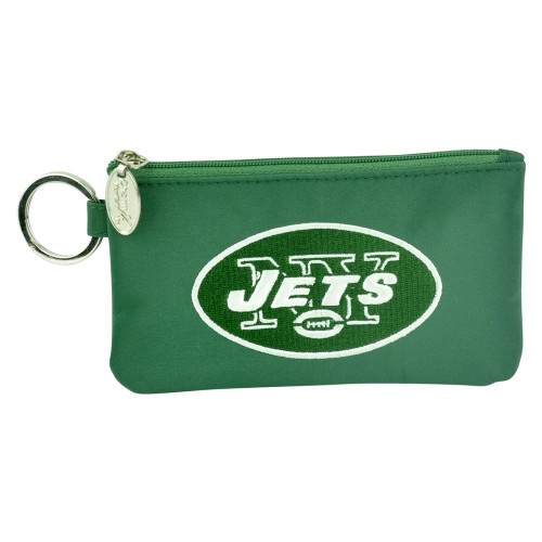 NFL New York Jets Clip On ID Case Wristlet Phone Case Ladies Womens Accessories