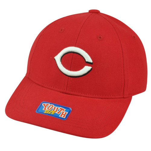 1f80a9311c6 MLB Cincinnati Reds Youth Size Velcro Adjustable Fan Favorite Hat Cap Game  Day