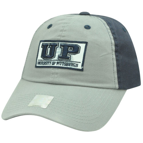 more photos cd23f bcbb1 NCAA Starter Pittsburgh Panthers Garment Wash Slouch Sun Buckle Two Tone Hat  Cap