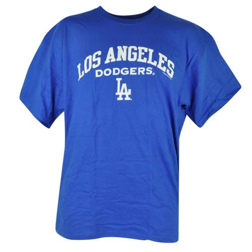 MLB Los Angeles Dodgers Tshirt Cup Mug Mens Set Blue Baseball Cotton Shirt Tee