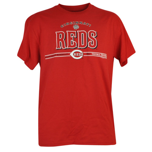 MLB Cincinnati Reds Skeet Shot Central Division Short Sleeve Tshirt Tee Mens