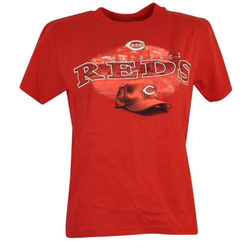 MLB Cincinnati Reds Sergio Jr Youth Tshirt Tee Baseball Cotton Short Sleeve Fan