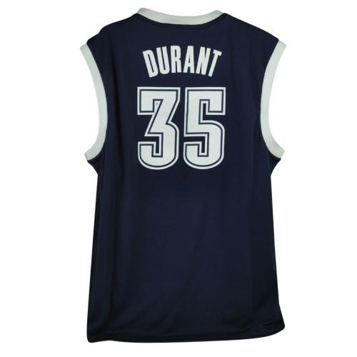 3c1509ccfa08d ... NBA Oklahoma City Thunder OKC Pro Cut 35 Kevin Durant Mens Jersey Adidas  Navy
