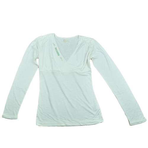 NFL Green Bay Packers The Blitz Women Ladies Long Sleeve Glitter Shirt