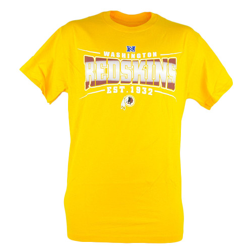 NFL Washington Redskins Sully Mens EST 1932 Football Tshirt Yellow Tee