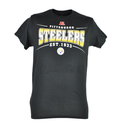 NFL Pittsburgh Steelers Sully Mens EST 1933 Football Tshirt Black Tee Fan