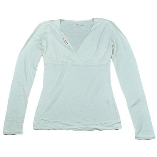 NFL San Francisco 49ers The Blitz Women Ladies Long Sleeve Glitter Shirt