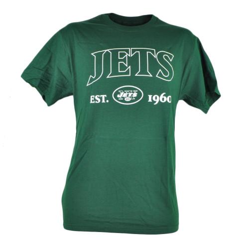 NFL New York NY Jets Commissioner EST 1960 Football Mens Tshirt Tee Green