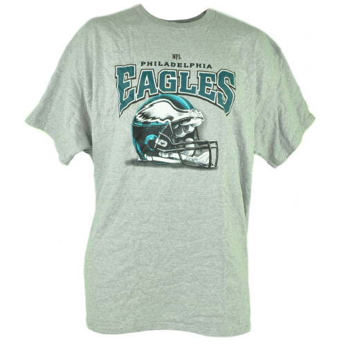 NFL Philadelphia Eagles Tshirt Cup Set Grey Tee Mug Football Short Sleeve Cotton