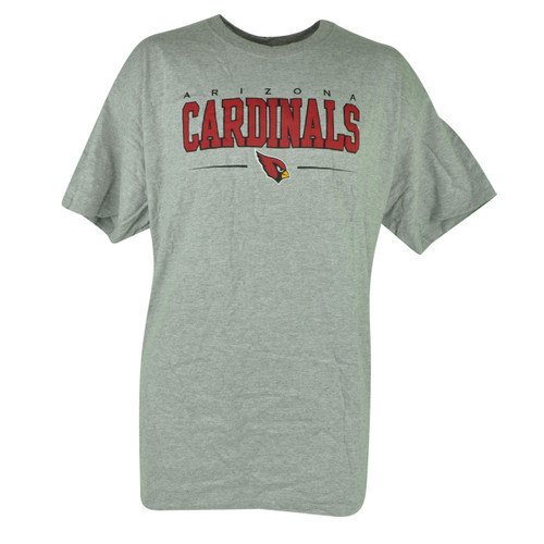 NFL Arizona Cardinals Tshirt Cup Set Grey Shirt Tee Mug Football Short Sleeve