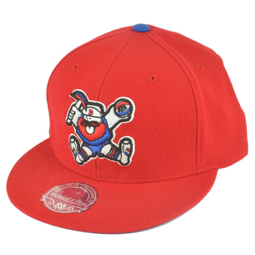 wholesale dealer 63e0e 0cb5f ABA Mitchell Ness TU40 Denver Nuggets Basic Fitted Wool Hat Cap