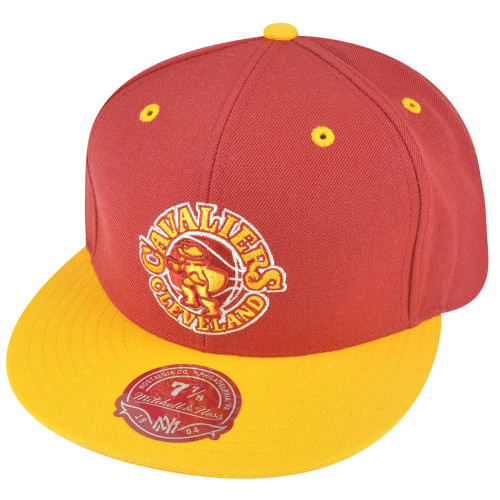NBA Mitchell Ness Cleveland Cavaliers TL94 HWC 2-Tone Fitted Hat Cap