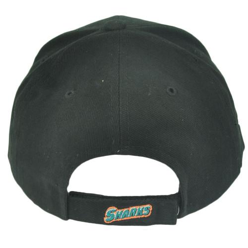 buy popular e625f b2828 ... NHL San Jose Sharks Sawchuck Fan Favorite Velcro Black Adjustable Hat  Cap Hockey