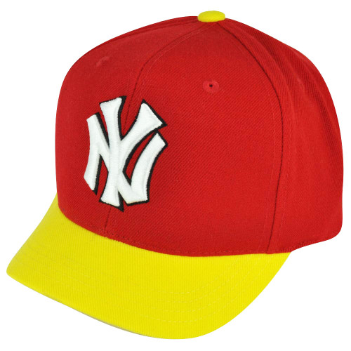 MLB American Needle New York Yankees Two Toned Red Snapback Hat Cap Sports NY
