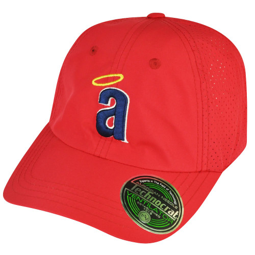 MLB American Needle Los Angeles Angels of Anaheim Velcro Ventilator Red Hat Cap