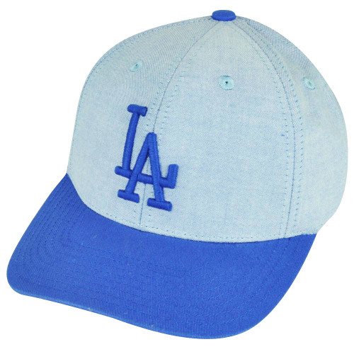 MLB American Needle Los Angeles Dodgers Sun Buckle Faded Blue Relaxed Hat Cap