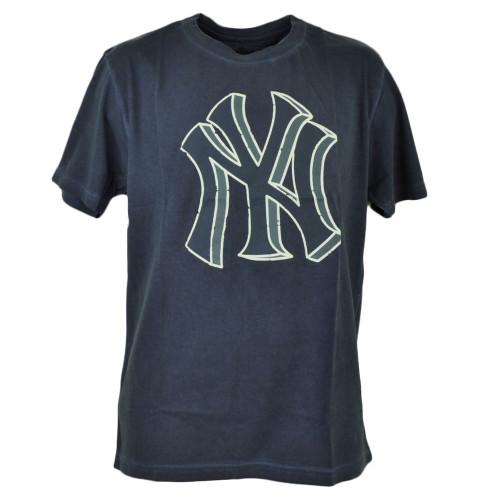 MLB New York Yankees 3D Logo Medium Mens Adult Tshirt Tee Short Sleeve Cotton