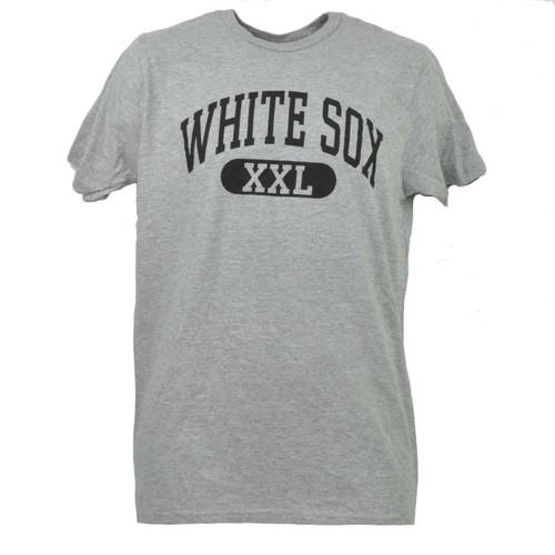 MLB Chicago White Sox Medium Tshirt Tee Short Sleeve Mens Sports Gray Crew Neck