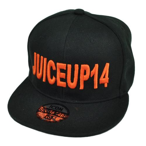 NFL Juiceup14 Jarvis Landry Miami Dolphins Snapback Hat Cap Black Flat Bill Sport