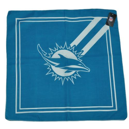 NFL Miami Dolphins Bandana Turquoise Game Day Spirit Head Gear Fashion Sports