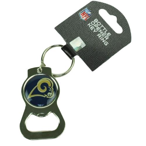 NFL St Louis Rams Bottle Opener Key Chain Logo Acrylic Ring Fan Sports Game Day