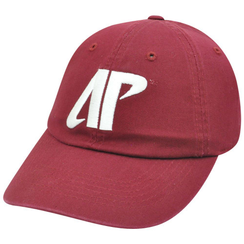 on sale eb6f4 bc603 NCAA Austin Peay Governors Govs Sun Buckle Garment Wash Curved Bill Red Hat  Cap
