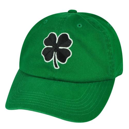 Womens Saint Patricks Day Lucky Clove Sun Buckle Ireland Cotton Green Hat Cap