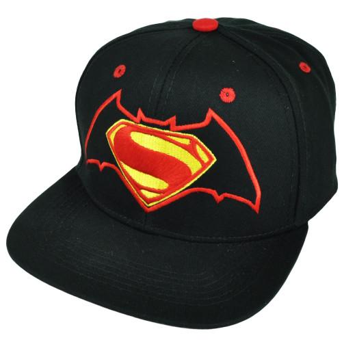 Batman V Superman Dawn of Justice Super Hero Hat Cap Flat Bill Movie Warner Bros