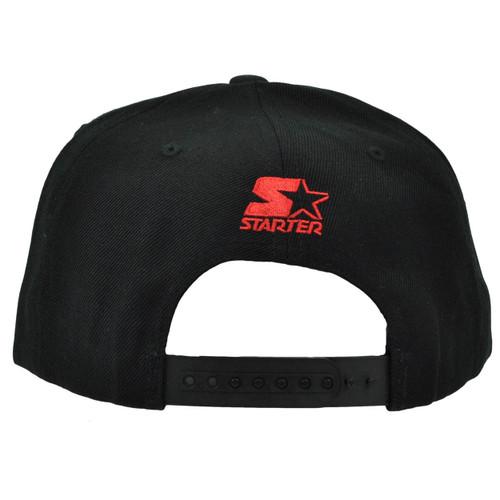 innovative design 38897 00d58 ... NCAA Starter Louisville Cardinals Black Snapback Hat Cap Flat Bill  Sports Cards