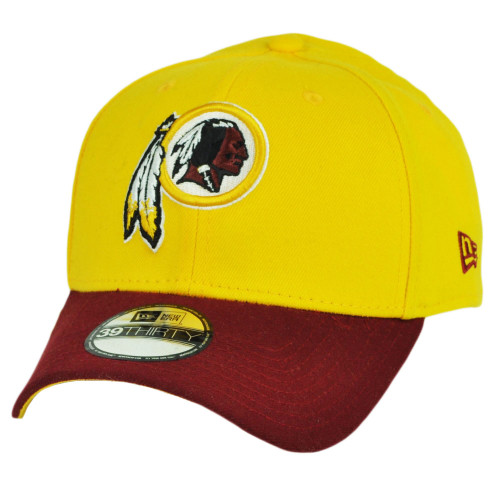 NFL New Era 39Thirty Washington Redskins TD Classic Flex Fit Small Medium Hat Cap